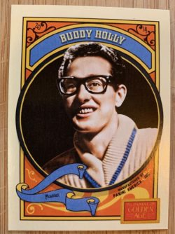 Buddy Holly Golden Age trading card