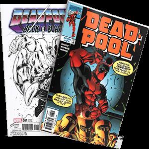 Deadpool Comic book cover