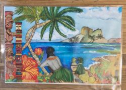Paradise (limited edition, artist signature series) post card