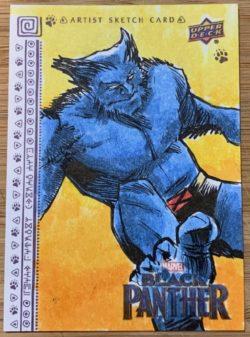 Black Panther trading card