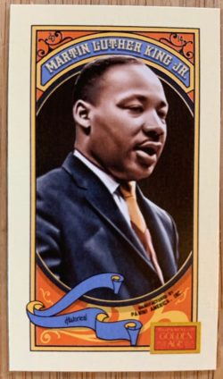 Martin Luther King Jr Golden Age trading card