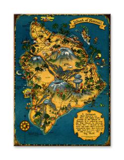 17x23 wood sign big island hawaii