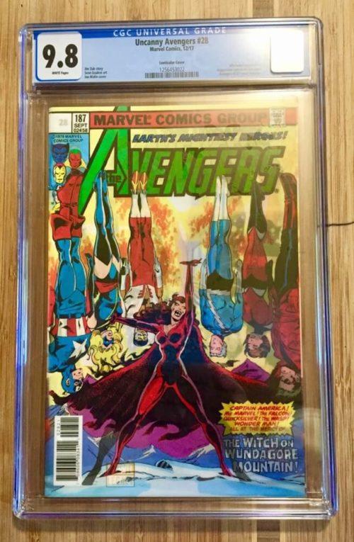 Uncanny Avengers Comic Book