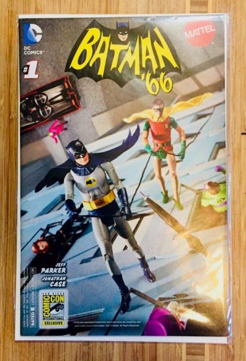 Batman 66 comic book