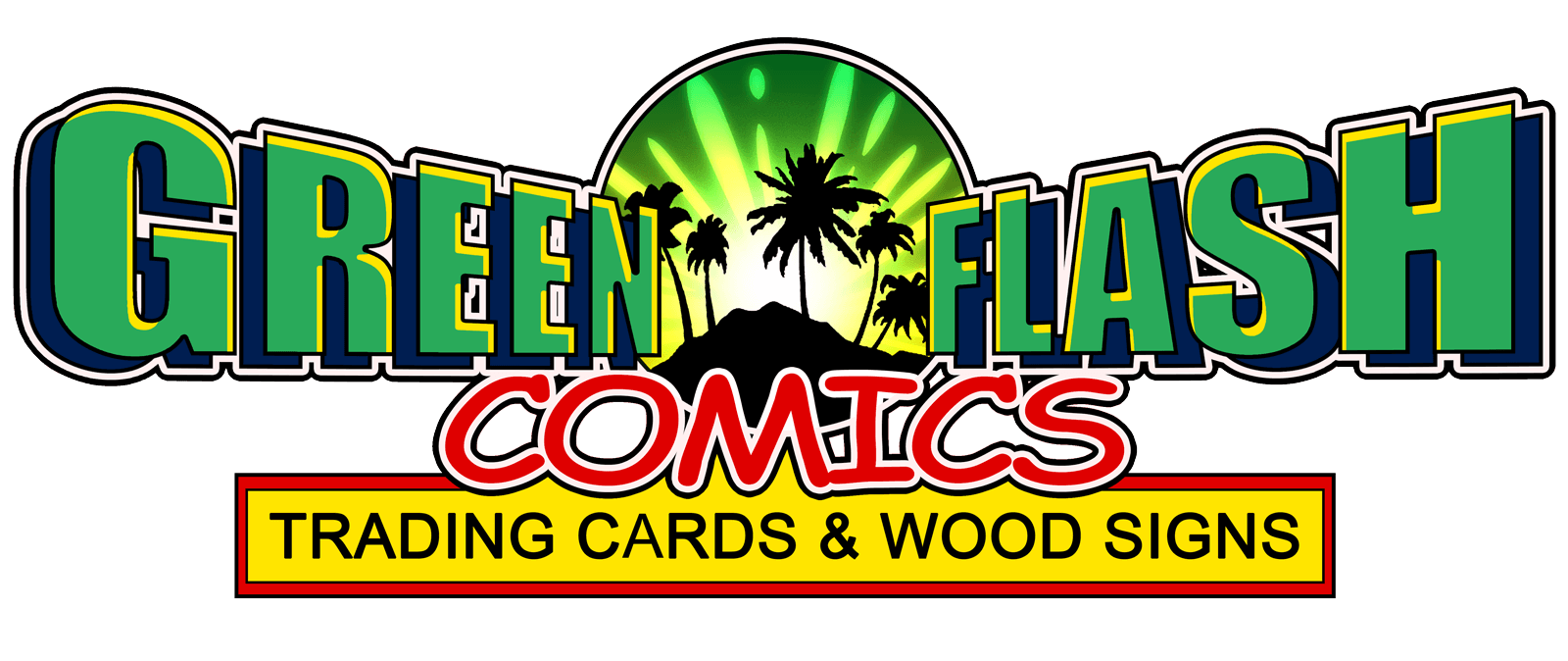 Green Flash Comics Logo